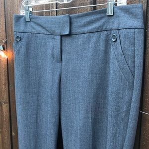 Gray Dress Pants, The Limited, Size 6
